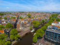 Sunny Amsterdam Royalty Free Stock Photos