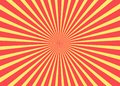 Sunny background. Rising sun pattern. Stripe abstract illustration. Sunburst. Sunny background. Rising sun pattern. Vector Royalty Free Stock Photo