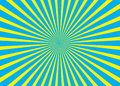 Sunny background. Rising sun pattern. Vector stripe abstract illustration. Royalty Free Stock Photo
