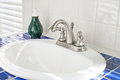 Sunny Bathroom Sink Royalty Free Stock Photo