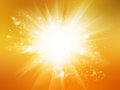 Sunny Bokeh Background Royalty Free Stock Photo