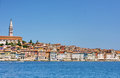 Sunny, bright town Rovinj Royalty Free Stock Photography