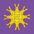 Sunny Bunny Royalty Free Stock Photo
