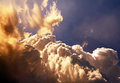 Sunny clouds background Images stock