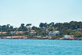 Sunny day in cannes a pleasent sea walk on boat near the shore of a summer Royalty Free Stock Photography