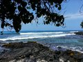 Sunny day in kona Royalty Free Stock Photo