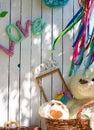 Sunny day picnic Royalty Free Stock Photo