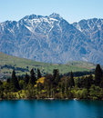 Sunny day in Queenstown Stock Photos