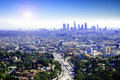 Sunny Los Angeles Royalty Free Stock Photo