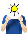 Sunny Outlook Royalty Free Stock Photo