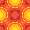 Sunny pattern seamless Stock Images