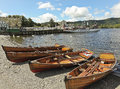 A Sunny Scene in Bowness-on-Windermere Stock Images