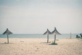 Sunny seaside landscape in eastern romania Royalty Free Stock Photography