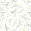 Sunny tea leafs