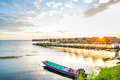 Sunries at Beach Pavilion in Ubon Ratchathani.