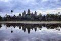 Sunrise At Angkor Wat Royalty Free Stock Photo