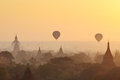 Sunrise in Bagan Royalty Free Stock Photo