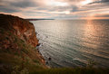 Sunrise at Cape Kaliakra Royalty Free Stock Photo