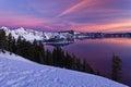 Sunrise at Crater Lake