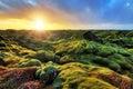Sunrise Eldhraun Landscape