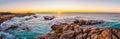 Sunrise at Friendly Beaches in Freycinet NP, Tasmania Royalty Free Stock Photo