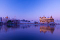 Sunrise at Golden Temple Stock Images