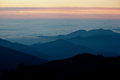 Sunrise in Himalayas mountain NEPAL Royalty Free Stock Photo