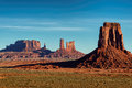 Sunrise in Hunts Mesa, Monument Valley Royalty Free Stock Photo