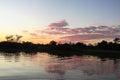 Sunrise in the jungle, Bolivia Royalty Free Stock Photo