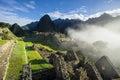 Sunrise Machu Picchu Royalty Free Stock Photo