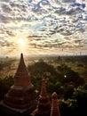 Sunrise in Old Bagan
