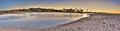 Sunrise over the estuary Royalty Free Stock Photo
