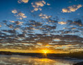 Sunrise over Lake Allatoona