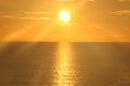 Sunrise Over The Ocean 12