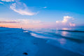 Sunrise over sunshine state florida beach Royalty Free Stock Photo