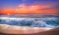 Sunrise at Punta Cana Royalty Free Stock Photo
