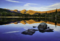 Sunrise, Rocky Mountain National Park, Colorado Royalty Free Stock Photo