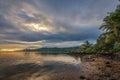 Sunrise in Samoa Royalty Free Stock Photo
