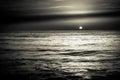Sunrise Sunset Over The Sea Oc...