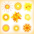 Suns Royalty Free Stock Images