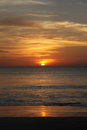 Sunset in bali island indonesia Stock Images