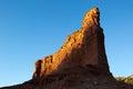 Sunset at caprock canyon texas Royalty Free Stock Photo