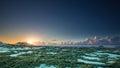 Sunset On Christmas Eve