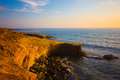 Sunset Cliff California Stock Photos