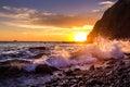 Sunset ,Dana Point, California Royalty Free Stock Photo