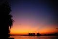 Sunset. Danube Delta