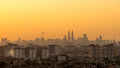 Sunset in downtown kuala lumpur malaysia th april view of the petronas twin towers during on april malaysia petronas are the Stock Photography