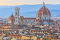 Sunset at Florence, Toscana, Italy Royalty Free Stock Photo