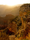 Sunset at the Grand Canyon Royalty Free Stock Photo