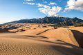 Sunset at Great Sand Dunes Royalty Free Stock Photo